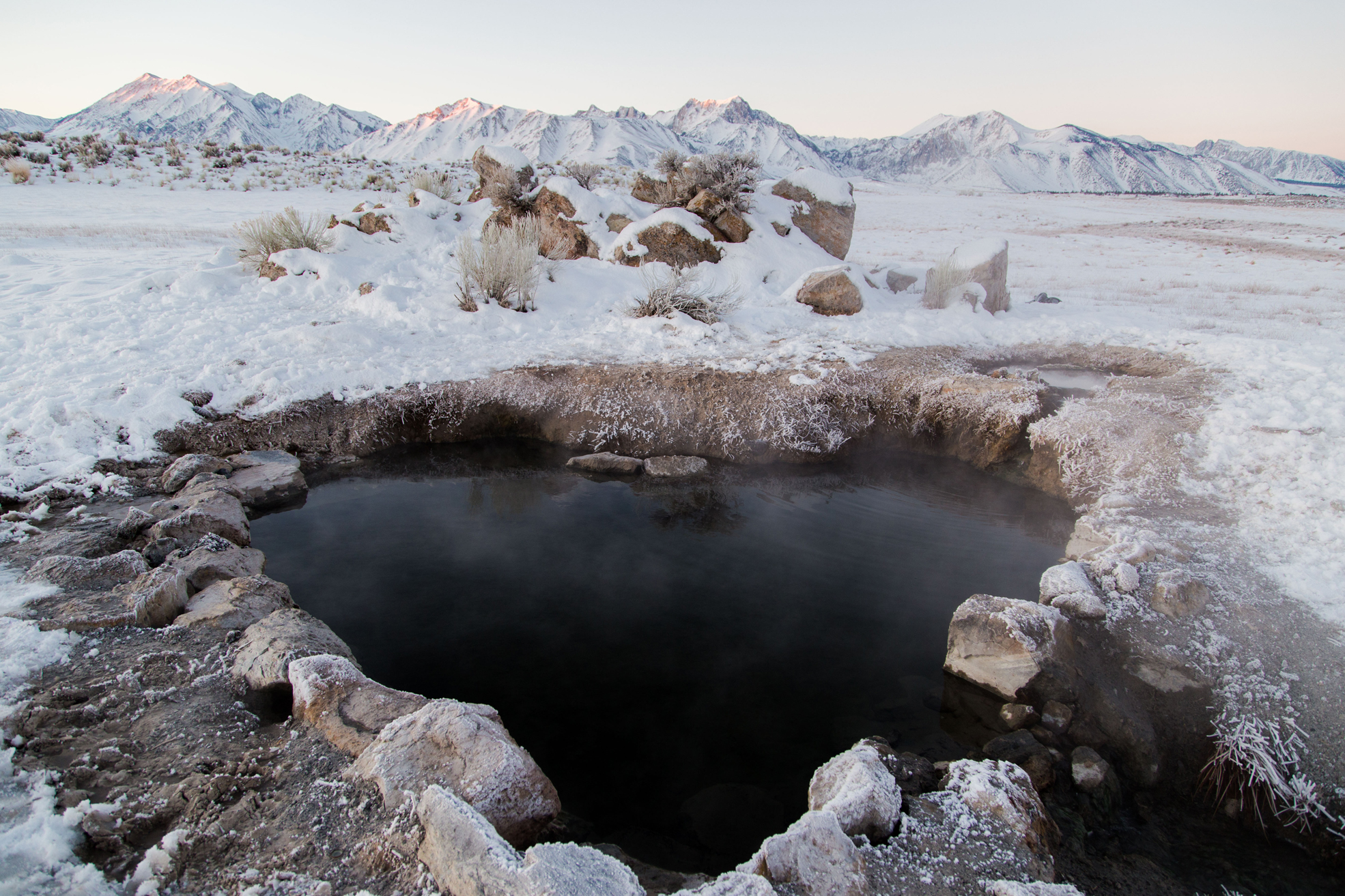 The Secret Hot Springs of Mammoth